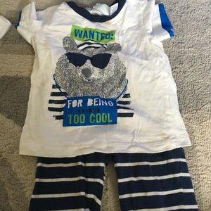 Boys 18 month first impression pajamas